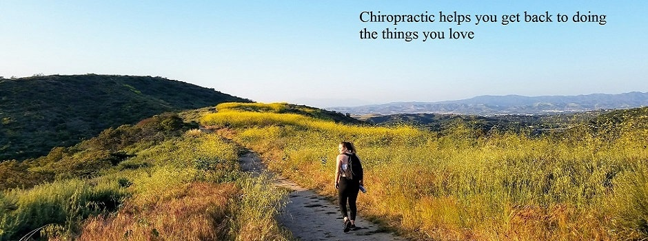 chiropractic gets you back on track